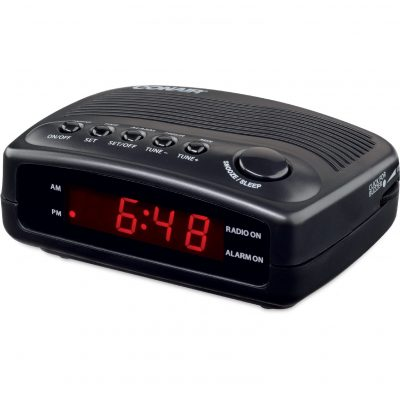 iHome Triple Display Alarm Clock with Dual USB Charging