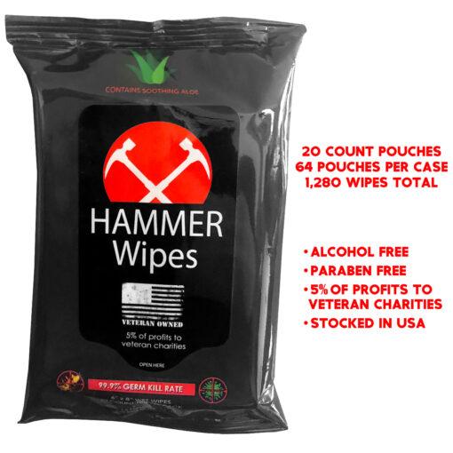 Hammer Wipes Sanitizer Wipes