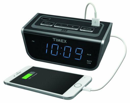 Timex T262B Hotel Alarm Clock Radio