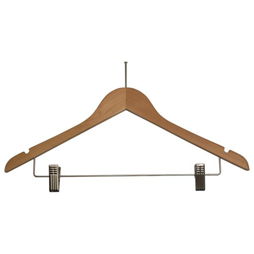 Ball-Top-Ladies-Hangers-with-Clips-for-hotels-Natural-Chrome-32082